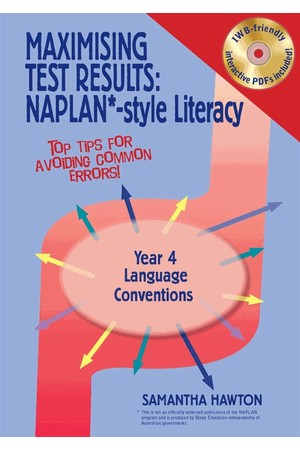 Maximising Test Results - NAPLAN*-Style Literacy: Language Conventions - Year 4