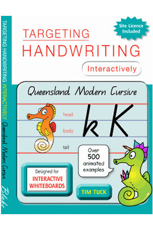 Targeting Handwriting Interactively - Queensland Modern Cursive: Less than 200 Students