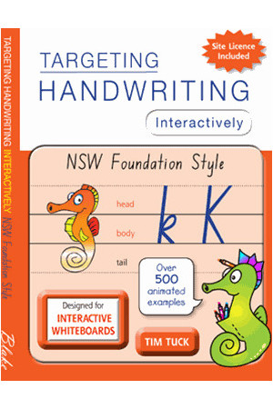 Targeting Handwriting Interactively - NSW Foundation Style: Less than 200 Students