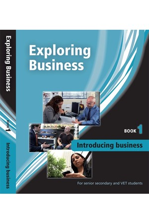 Exploring Business - Book 1