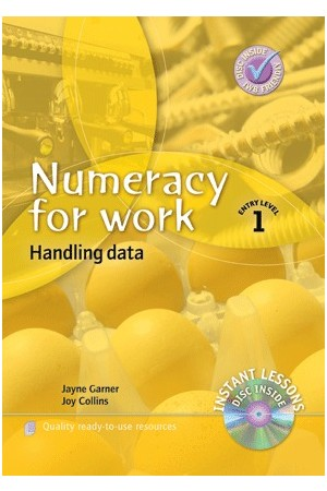 Numeracy for Work - Entry Level 1: Handling Data