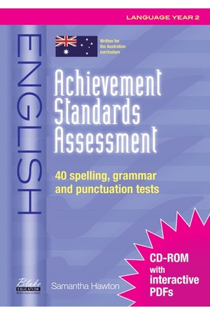 Achievement Standards Assessment - English: Language - Year 2