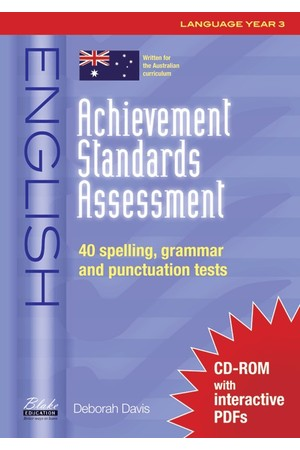 Achievement Standards Assessment - English: Language - Year 3