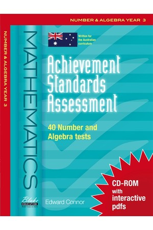 Achievement Standards Assessment - Mathematics: Number & Algebra - Year 3