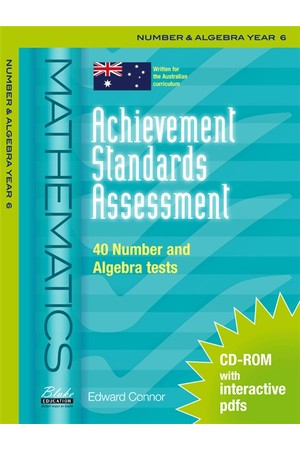 Achievement Standards Assessment - Mathematics: Number & Algebra - Year 6