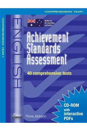 Achievement Standards Assessment - English: Comprehension - Year 1