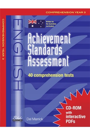 Achievement Standards Assessment - English: Comprehension - Year 3