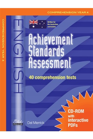 Achievement Standards Assessment - English: Comprehension - Year 4