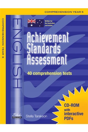 Achievement Standards Assessment - English: Comprehension - Year 5