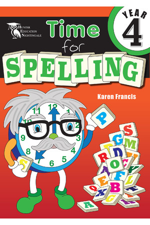 Time for Spelling - Year 4