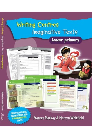 Blake's Learning Centres - Writing Centres: Imaginative Texts - Lower Primary