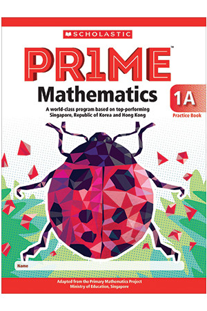 PRIME Mathematics International Edition - Practice Book: 1A (Year 1)