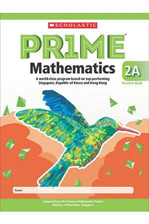 PRIME Mathematics International Edition - Practice Book: 2A (Year 2)