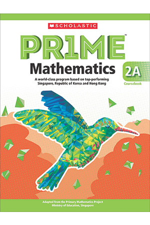 PRIME Mathematics International Edition - Coursebook: 2A (Year 2)