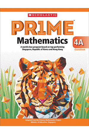 PRIME Mathematics International Edition - Coursebook: 4A (Year 4)
