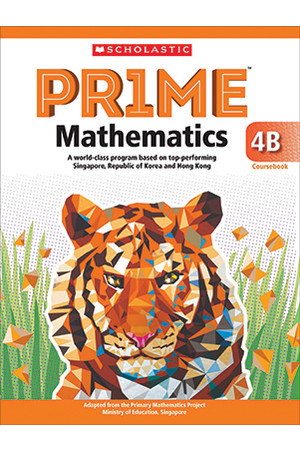 PRIME Mathematics - Coursebook: 4B (Year 4)