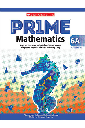 PRIME Mathematics International Edition - Coursebook: 6A (Year 6)