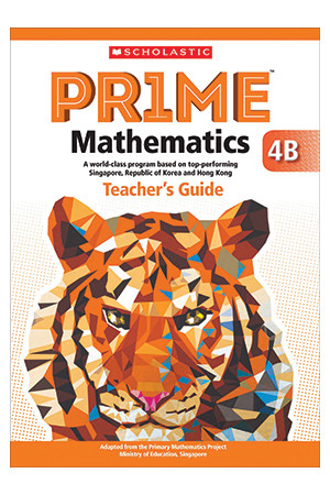 PRIME Mathematics International Edition - Teacher's Guide: 4B (Year 4)