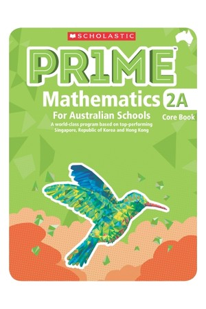 PRIME Mathematics for Australian Schools - Core Book 2A (Year 2)