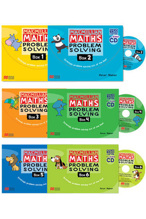 Macmillan Maths - Problem Solving Box: Years 1-6 Pack