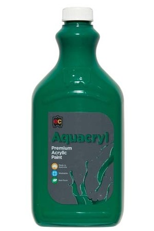 Aquacryl Premium Acrylic Paint 2L - Forest Green