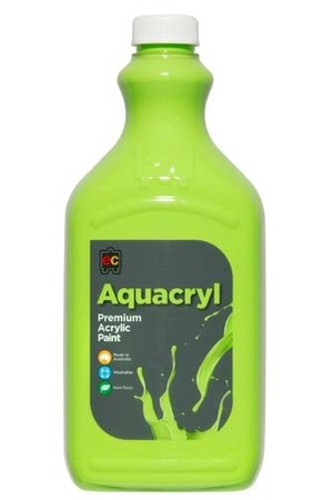 Aquacryl Premium Acrylic Paint 2L - Light Green