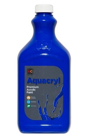 Aquacryl Premium Acrylic Paint 2L - Warm Blue