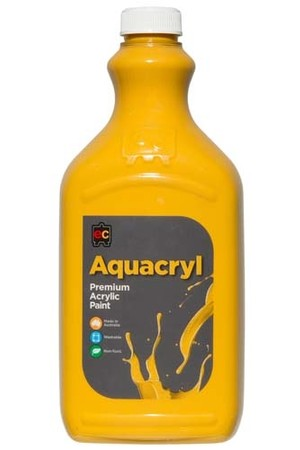 Aquacryl Premium Acrylic Paint 2L - Yellow Oxide