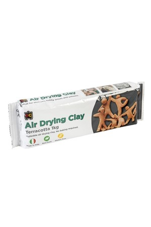 Air Drying Clay - Terracotta: 1kg