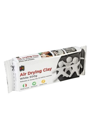 Air Drying Clay - White: 500g