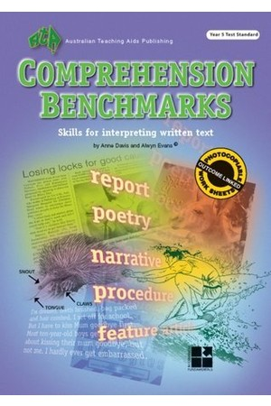 Comprehension Benchmarks - Year 5 Test Standard