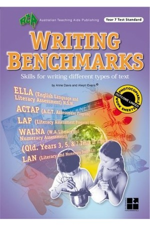 Writing Benchmarks - Year 7 Test Standard