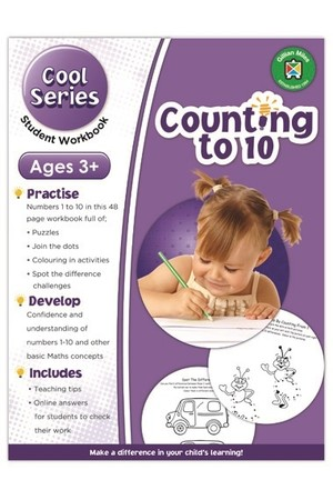 Cool Counting to 10 Exercises - Early Learners Age 3+