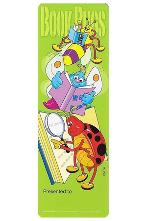 Book Bugs Bookmarks