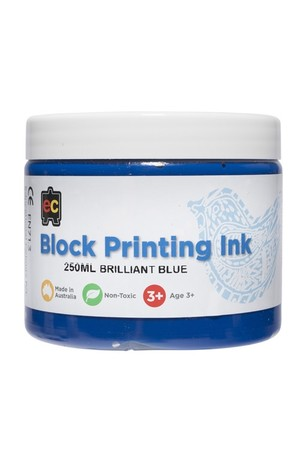 Block Printing - Brilliant Blue