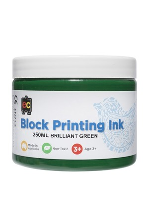 Block Printing - Brilliant Green