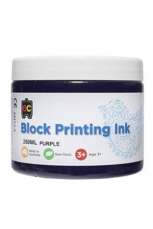 Block Printing - Purple