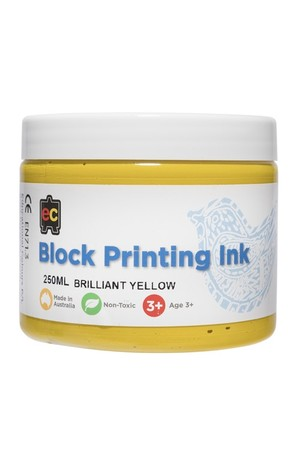 Block Printing - Brilliant Yellow