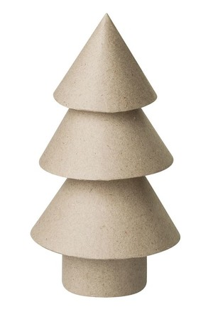 Papier Mache - Christmas Trees (Pack of 5)