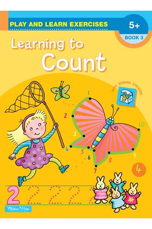 Play and Learn Exercises - Learning to Count: Book 3
