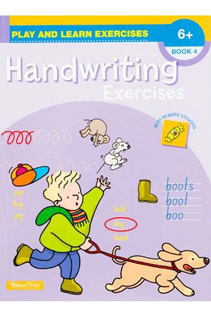 Play and Learn Exercises - Handwriting: Book 4