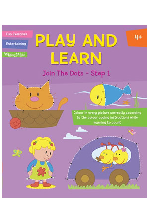 Play and Learn Activity Book - Join the Dots: Step 1