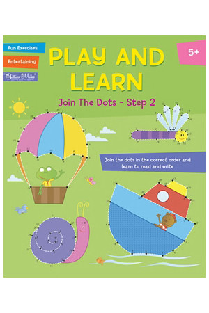 Play and Learn Activity Book - Join the Dots: Step 2