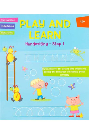 Play and Learn Activity Book - Handwriting: Step 1