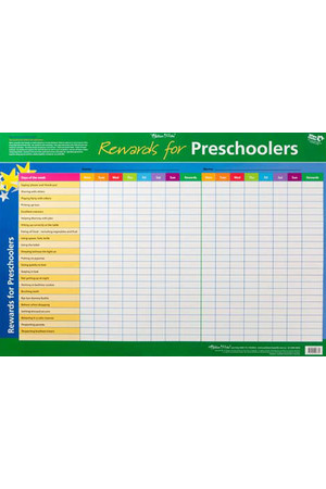 Rewards for Preschoolers/Big Kids Double-Sided Chart