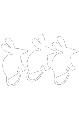 Cardboard Bilbies - Pack of 30