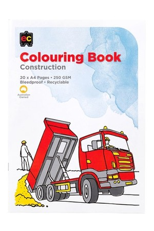 Construction Colouring Book