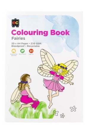 Fairies Colouring Book