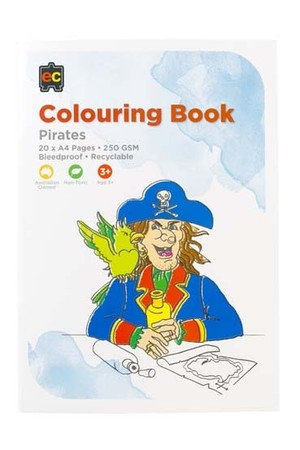 Pirates Colouring Book