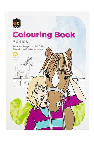 Ponies Colouring Book